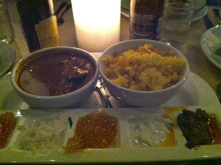 Madiba Vegetable Curry