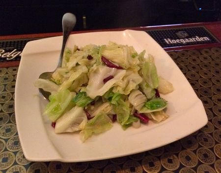 Han Dynasty Chinese Cabbage with Dry Peppers
