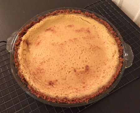 Buttermilk Pie with Spices
