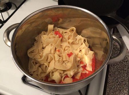 Fresh Pasta Cooked