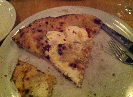 Frannys Ricotta Pizza