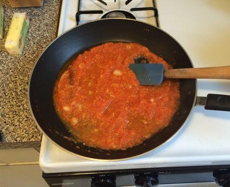 Paneer Makhani Tomatoes Stewing