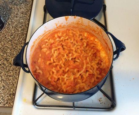 Tomato Cream Sauce Prepared