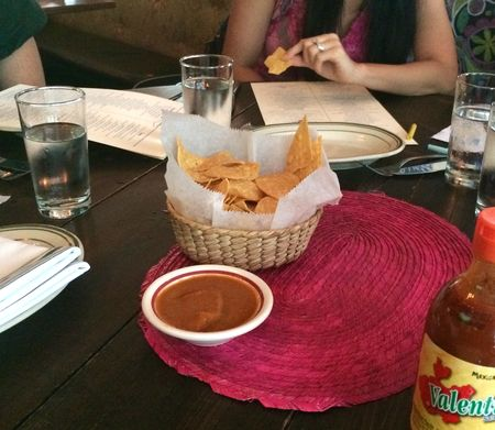Tacuba Chips and Salsa