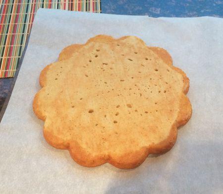Strawberry Shortcake - Bottom of Baked