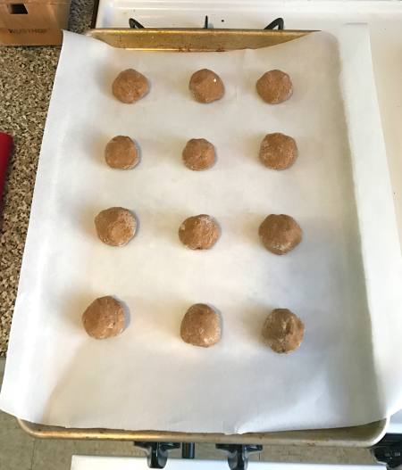 Cooks Illustrated Molasses Cookies - Cookie Balls