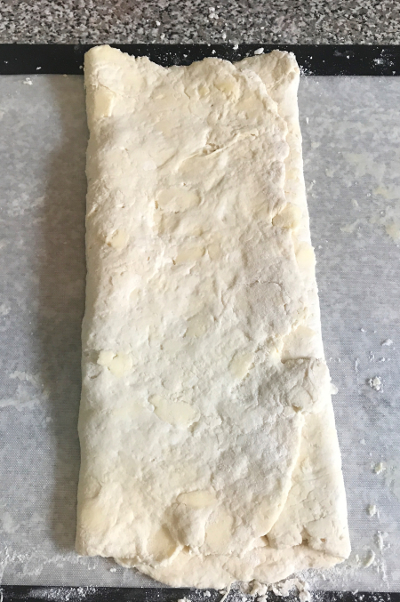 Flaky Buttermilk Biscuits - First Envelope Fold