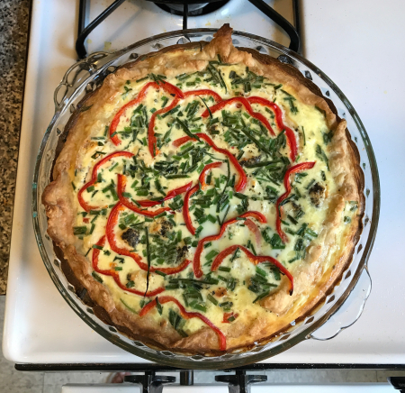 Quiche Baked