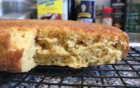 Mango Cake - Baked Inside