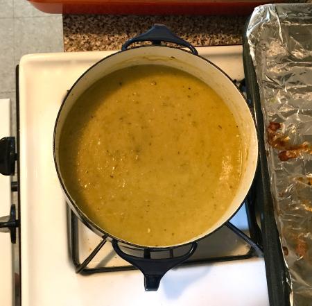 Hatch Chile Enchiladas - Pureed Sauce