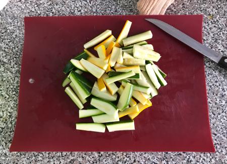 KAF Zucchini Sticks - Cut Zucchini