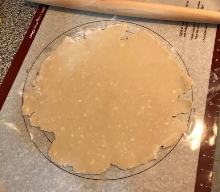 Milk St Choc Tart - Pie Dough Rolled