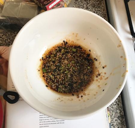 Milk St Noodles - Sauce Combined