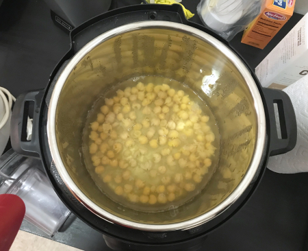 Zahav Hummus - Chickpeas in Instant Pot