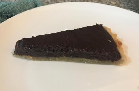 Milk St Choc Tart - Slice
