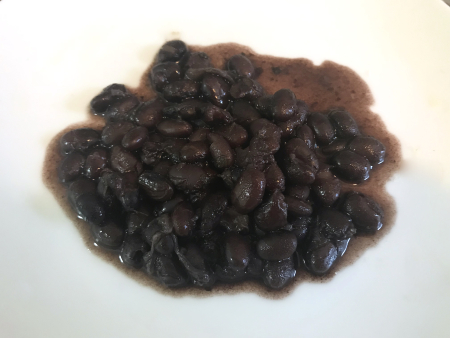 Instant Pot Black Beans - Cooked and Served