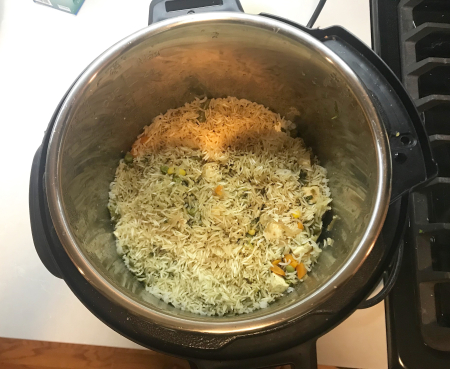 Paneer Biryani - Cooked in Instant Pot