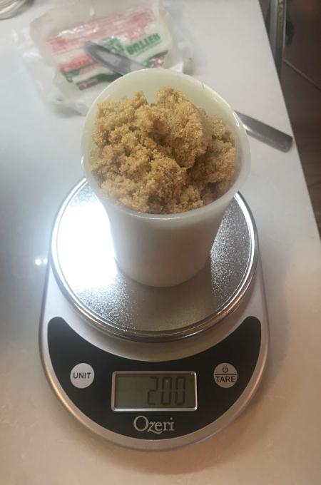 Egg Yolk Cookies - Brown Sugar