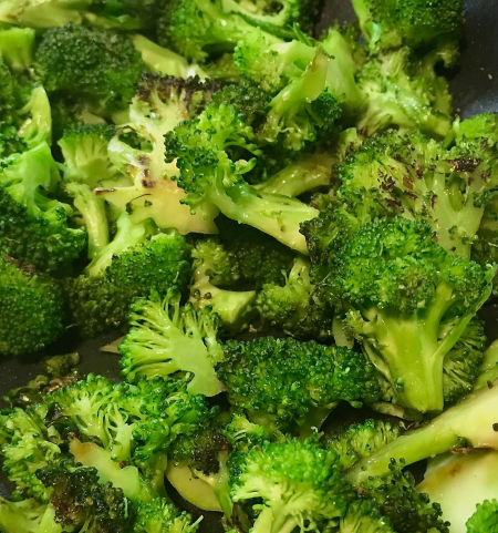 Pan Roasted Broccoli - Close Up v2