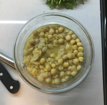 Instant Pot Channa Masala - Cooked Chickpeas