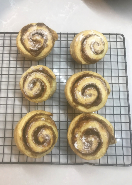 Ptak Cinnamon Rolls - Ready to Serve!