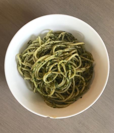 Nosrat Pesto - Served on Pasta