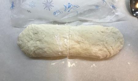 Poolish Batard - Dough Shaped
