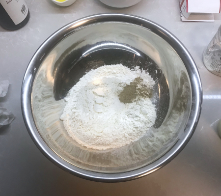Ptak Cinnamon Rolls - Dry Ingredients Initial