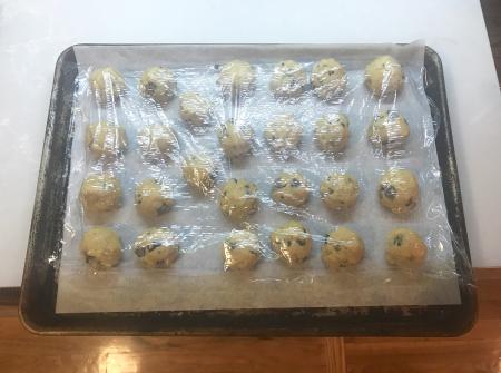 Egg Yolk Cookies - Frozen Cookies