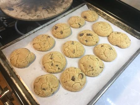 Egg Yolk Cookies - Baked
