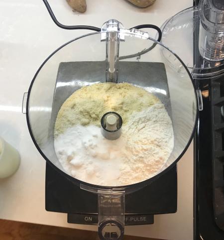 Chocolate Orange Tart - Flour in Food Processor