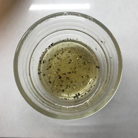 Pan-Roasted Broccoli - Water Mixture