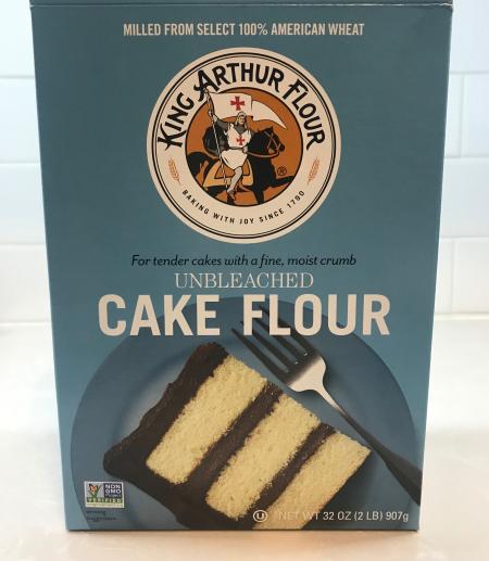 KAF Chocolate Cake - Cake Flour Box Front