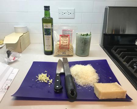 Nosrat Pesto - Ingredients