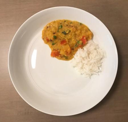 Dahl Tadka - Served