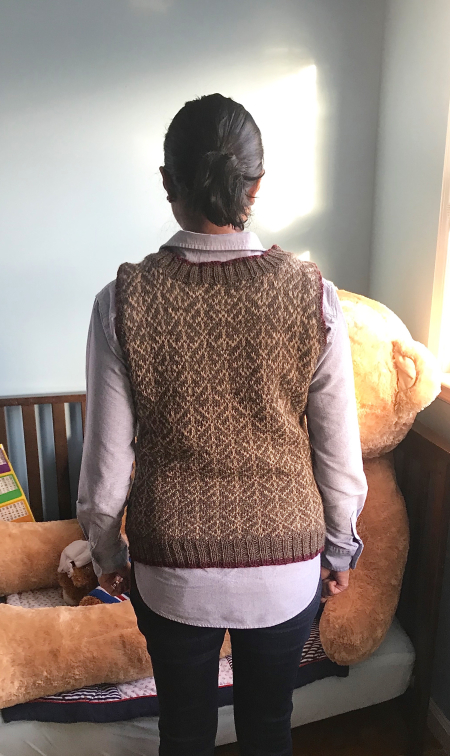 Madhu Vest - Back Modeled
