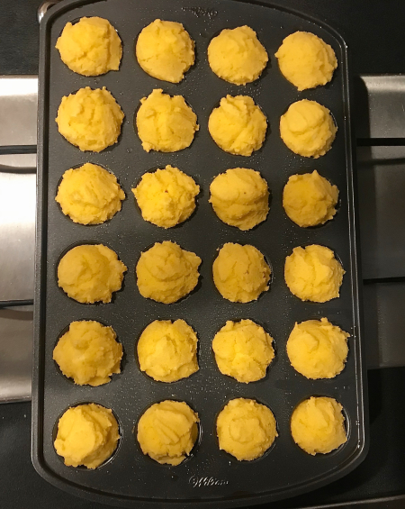 Corn Muffins - Baked