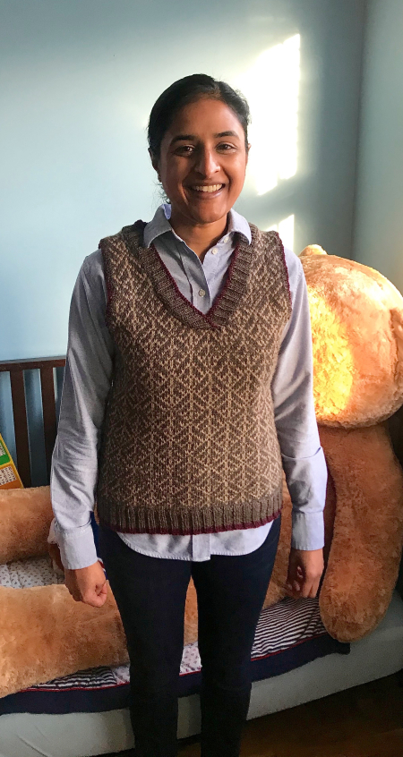 Madhu Vest - Modeled Front