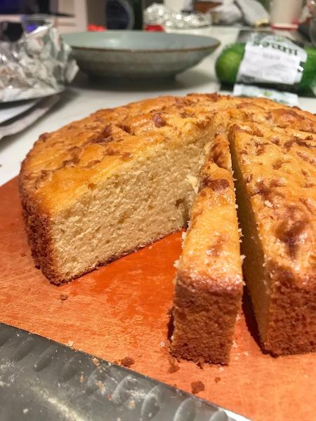 Olive Oil Cake - Cut Inside
