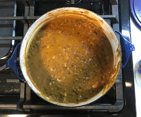 Dishoom Dal Makhani - Cooking Down