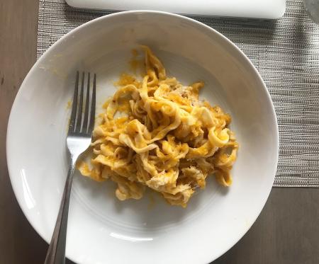 KAF Pasta - Served Close Up