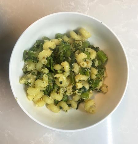Broccolini Pasta - Served