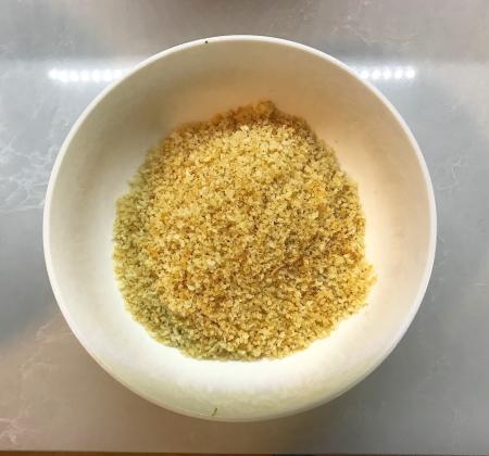Broccolini Pasta - Panko Breadcrumbs Done