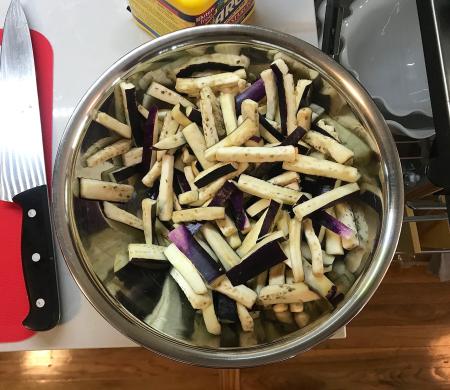 Omni Sichuan Eggplanet - Post Soaked Eggplant