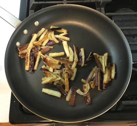 Omni Sichuan Eggplanet - Eggplant Browned