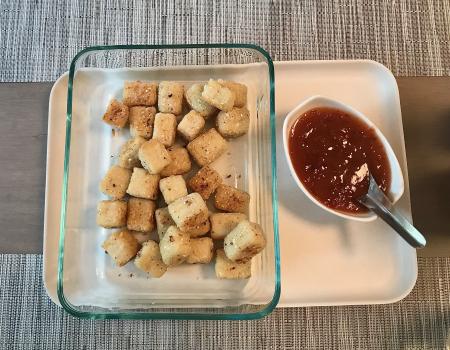 CI Crispy Tofu - Served