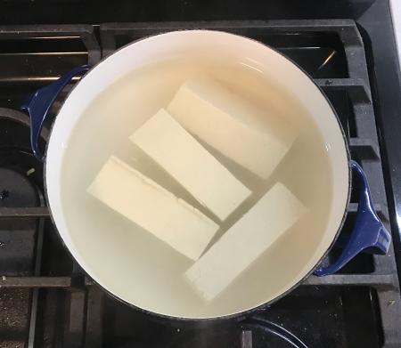 CI Crispy Tofu - Tofu Brining