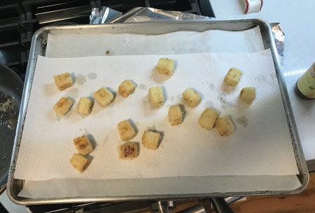 CI Crispy Tofu - Lined for Baking