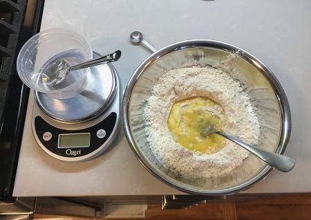 Fettucine Alfredo - Pasta Ingredients