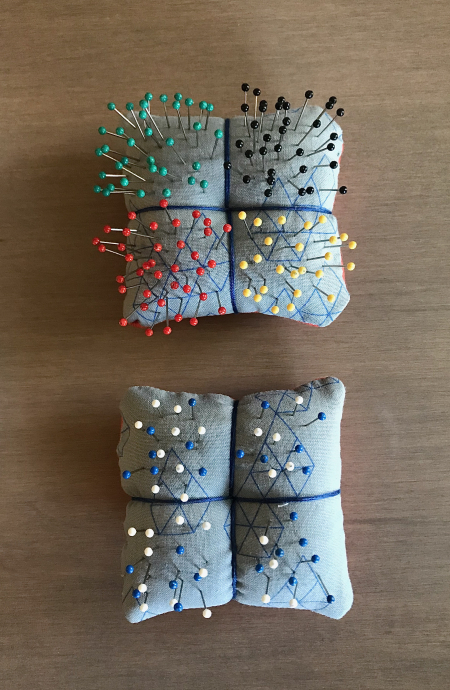 Pin Cushions - Both Completed
